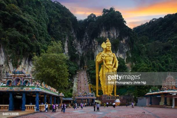 Murugan Statue at the Entrance to Batu Caves, Gombak, Selangor, Malaysia