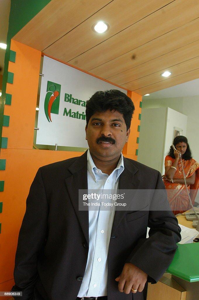 Murugavel Janakiraman, CEOof BharatMatrimony com