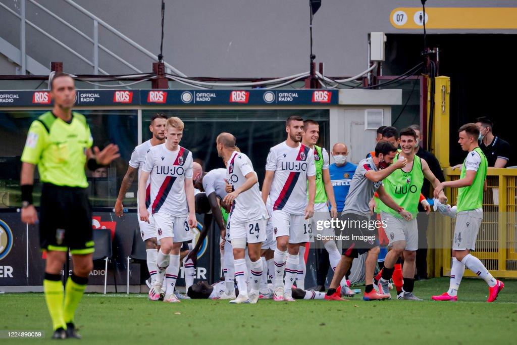 Internazionale v Bologna - Italian Serie A : News Photo