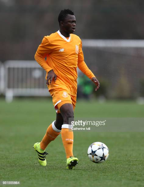 Musa Isah of FC Porto during the UEFA Youth League group H match between Tottenham Hotspur and FC Porto on March 13 2018 in Enfield United Kingdom