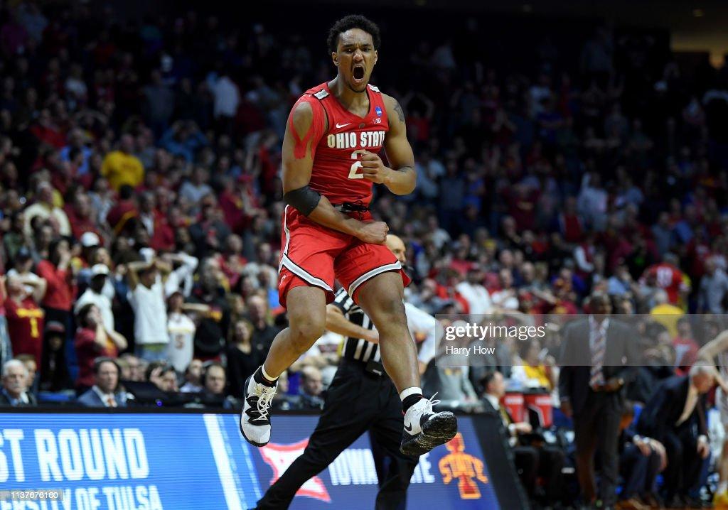OK: NCAA Basketball Tournament - First Round - Tulsa