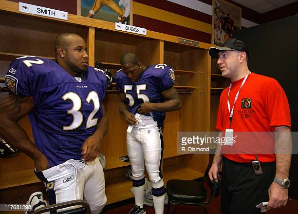 Musa Smith Terrell Suggs Ravens and Howard Skull NFLPA