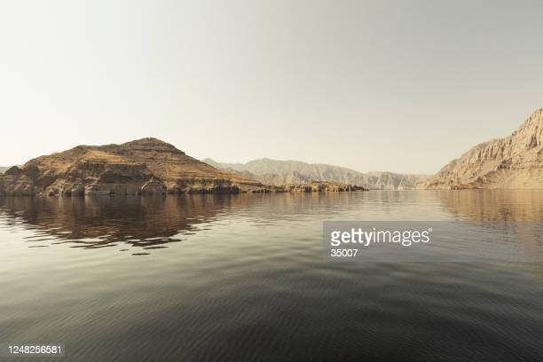 musandam peninsula, oman - persian gulf countries stock pictures, royalty-free photos & images