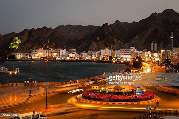 Muscat city by night, Oman