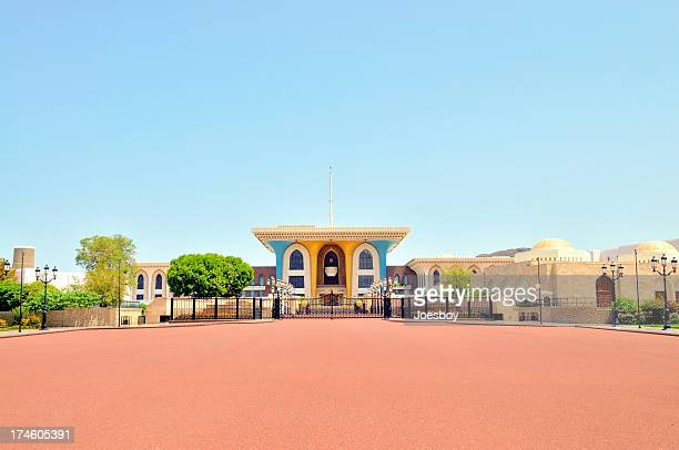 muscat sultan qaboos palace - palace stock pictures, royalty-free photos & images