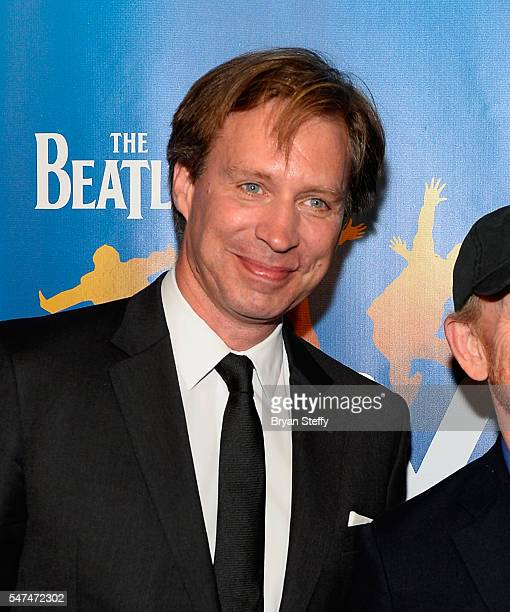 Muscial director Giles Martin attends the 10th anniversary celebration of 'The Beatles LOVE by Cirque du Soleil' at the Mirage Hotel Casino on July...