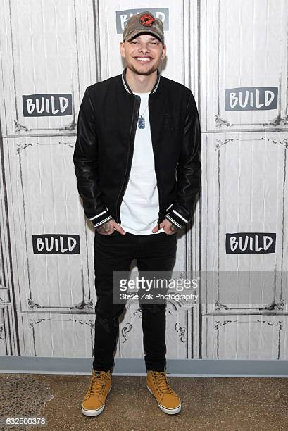Muscian Kane Brown attends Build Series at Build Studio on January 23 2017 in New York City