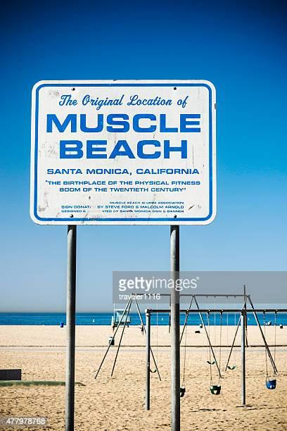 Muscle Beach In Santa Monica, California