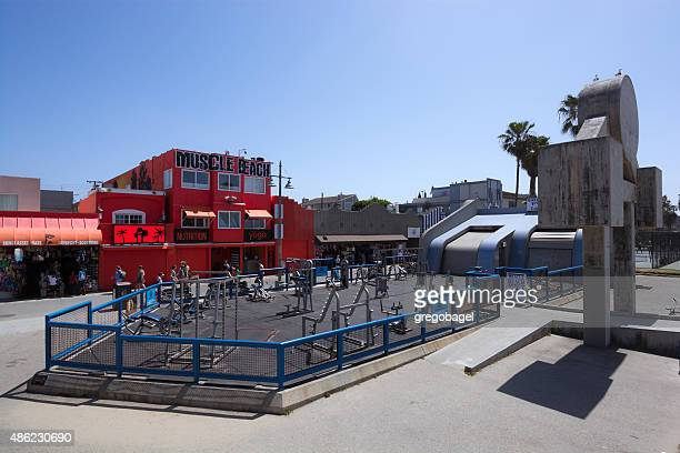 Muscle Beach Venice in Los Angeles, CA