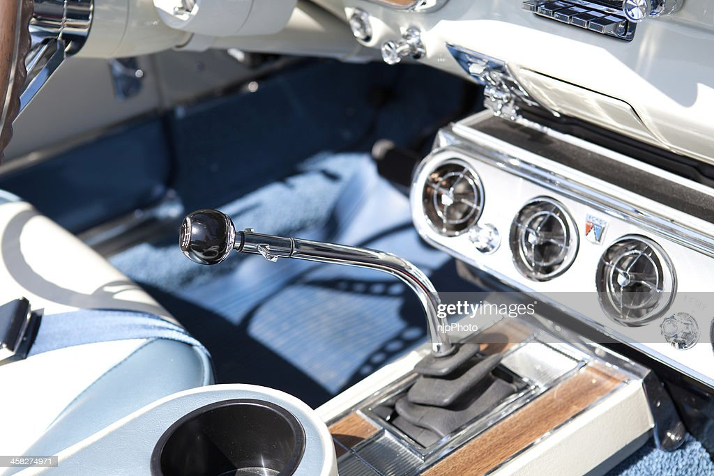 Muscle Car Interior Stock Photo Getty Images