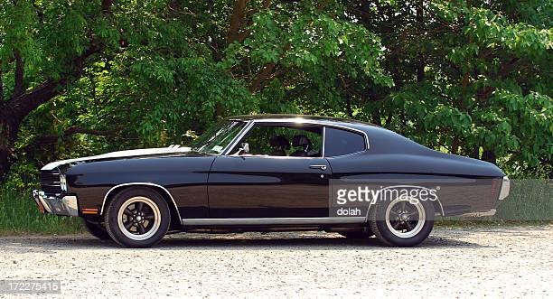 muscle car - hot rod car stock photos and pictures