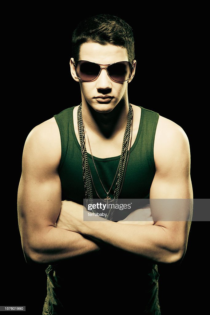 Muscular Body Build Young Guy Stock Photo | Getty Images