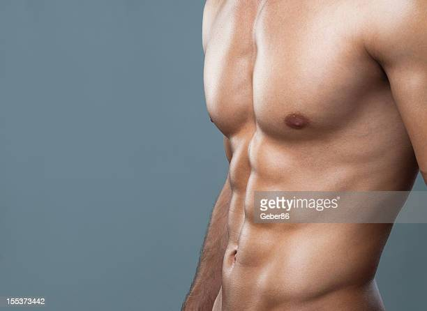 muscular body - sexy male torso stock pictures, royalty-free photos & images