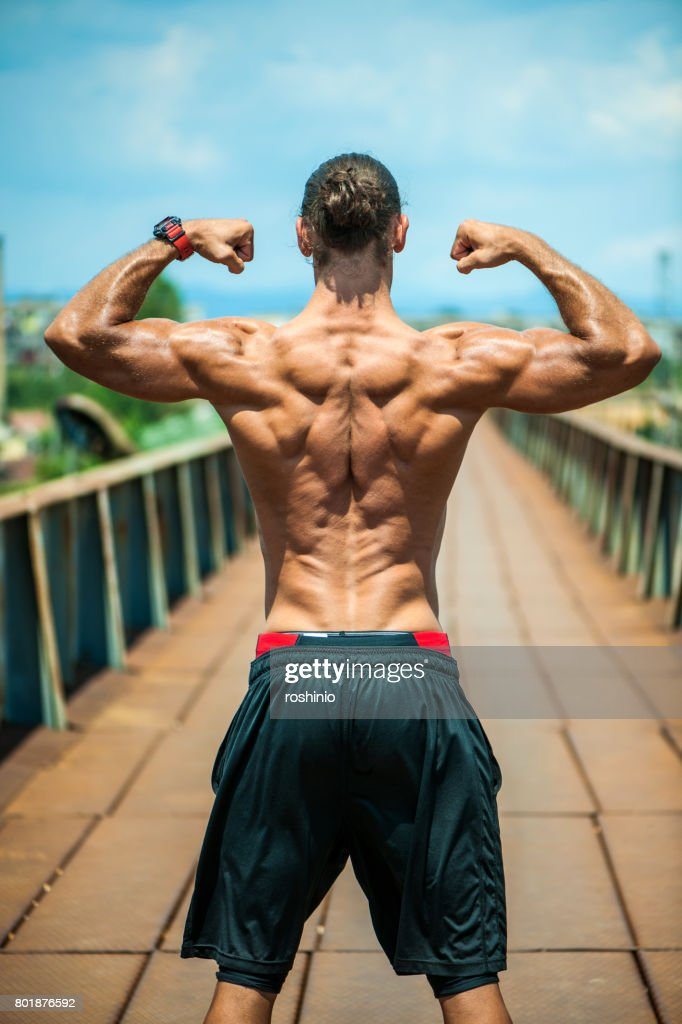Muscular Body Stock Photo Getty Images