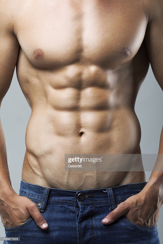 Muscular Male Body Stock Photo Getty Images
