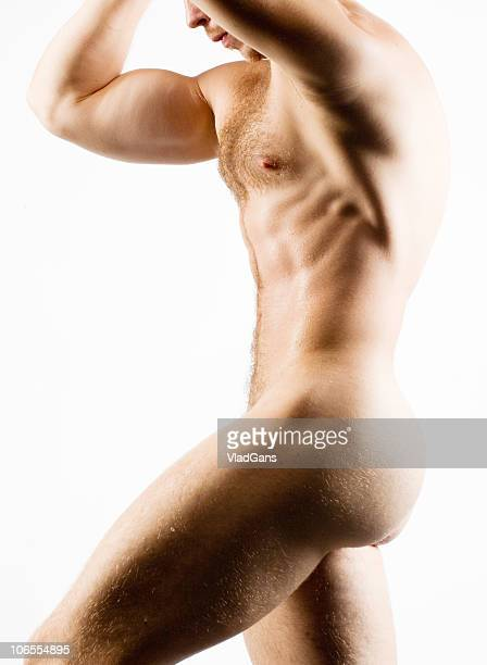 torso nu muscular masculinos - vlad models - fotografias e filmes do acervo