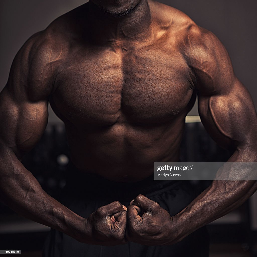 Muscular Torso Stock Photo Getty Images