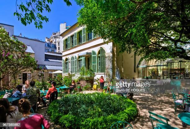 Musée de la Vie Romantique dans l'Hôtel SchefferRenan du quartier de la 'Nouvelle Athènes' à Paris France
