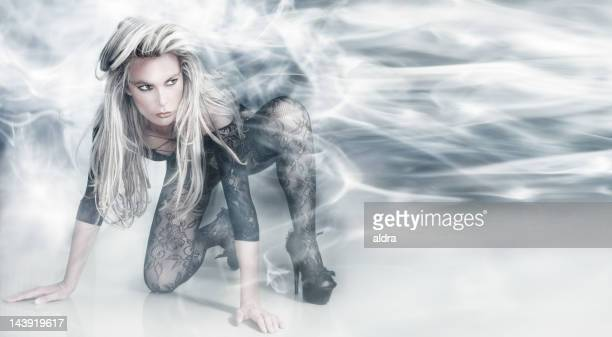 muse - mystic goddess stock photos and pictures