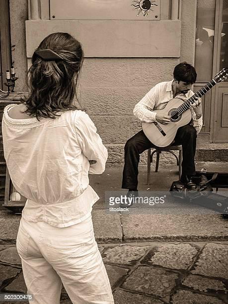muse - chitarra classica foto e immagini stock