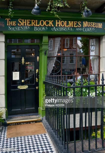 Musée Sherlock Holmes a Londres en Angleterre