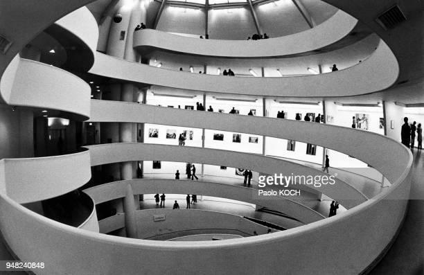 Musée Solomon R. Guggenheim à New York, Etats-Unis.