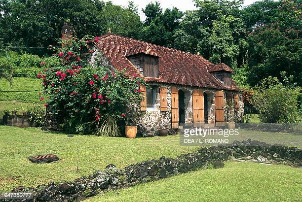 Musee de la Pagerie dedicated to the Empress Josephine first wife of Napoleon Bonaparte Trois islets Martinique French overseas department