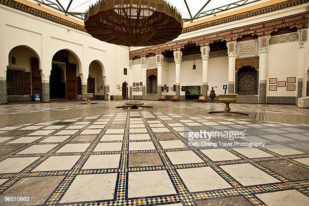 musee de marrakech - palace stock pictures, royalty-free photos & images