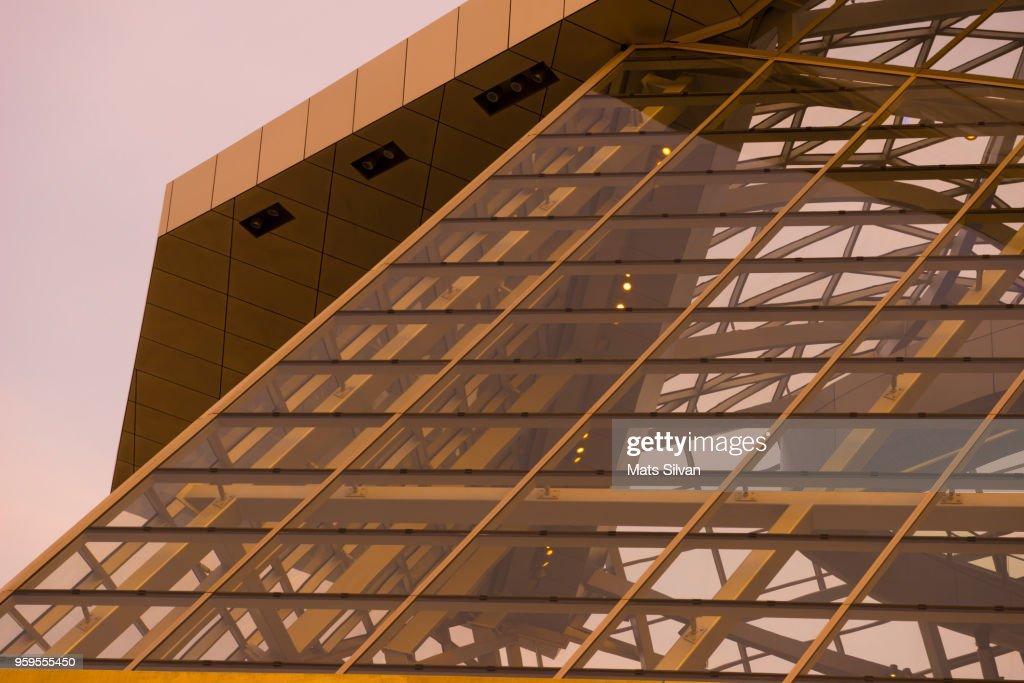 Musee des Confluences in Lyon : Stock-Foto