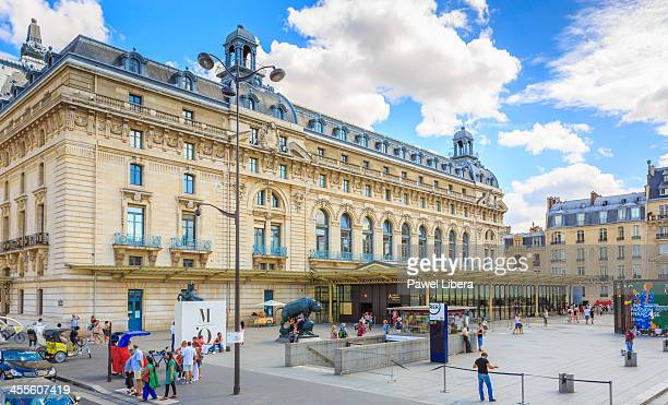 musee d'orsay, paris - musee d'orsay stock pictures, royalty-free photos & images