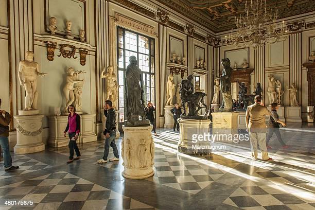 musei (museum) capitolini - musei capitolini foto e immagini stock