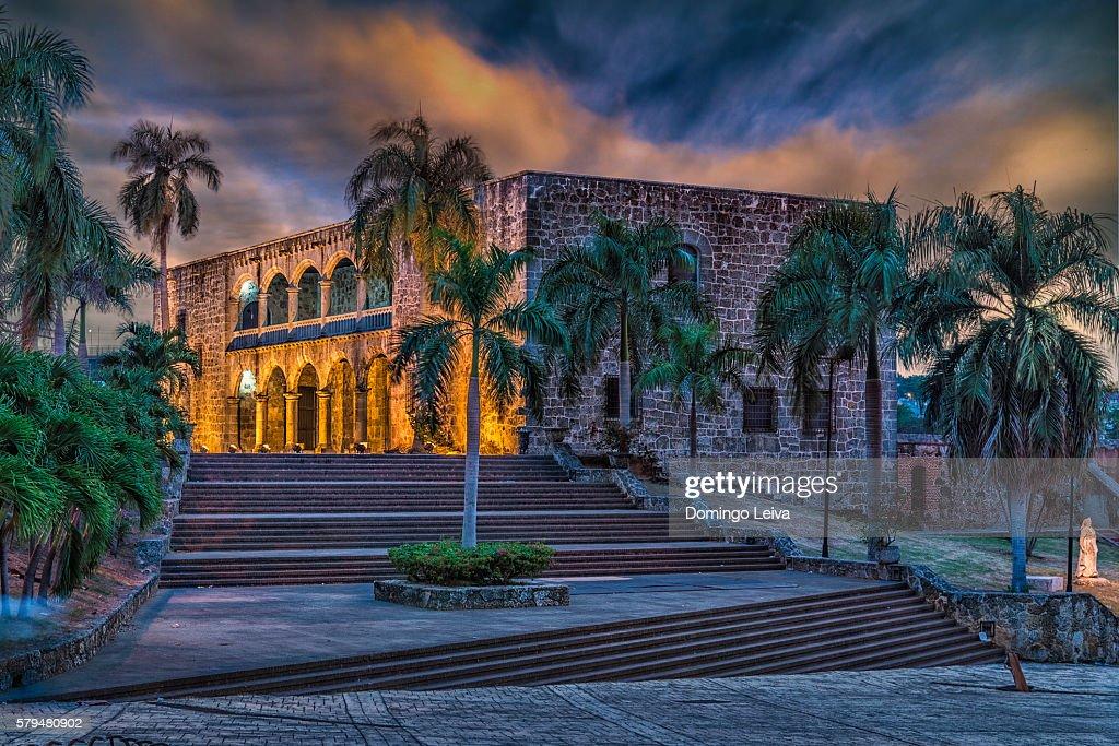 Museo Alcazar de Colon, Plaza Espana, Santo Domingo : Stock Photo