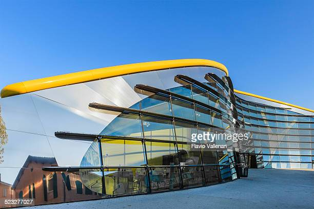 mef - museo casa enzo ferrari, modena - modena stock pictures, royalty-free photos & images