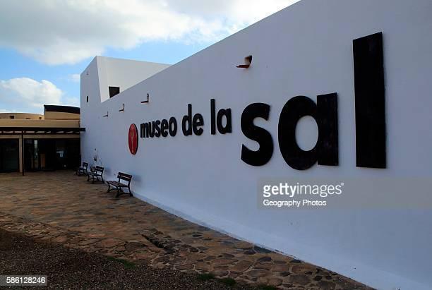Museo de la Sal Salt museum Las Salinas del Carmen Fuerteventura Canary Islands Spain
