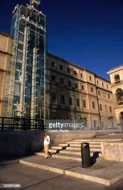 museo nacional centro de arte reina sofia in madrid houses the works of spanish artists of the 20th century. - arte stock photos and pictures