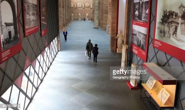 Museo Nacional de Arte Romano, national museum of Roman art, Merida, Extremadura, Spain.