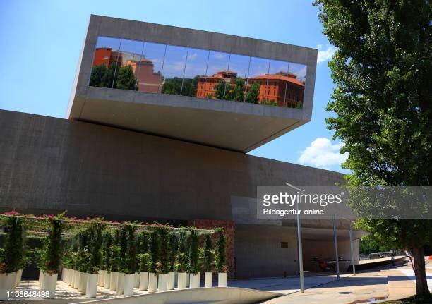 Museo nazionale delle arti del XXI secolo, national museum of 21st-century arts, a national museum of contemporary art and architecture in the...