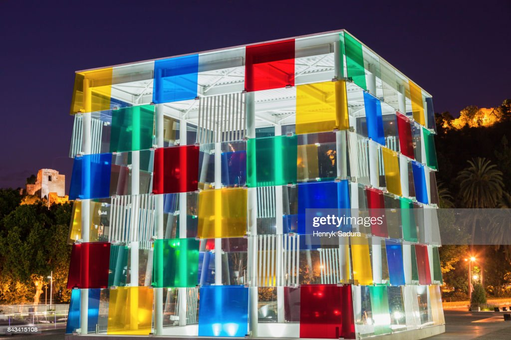 Museo Pompidou.Museo Pompidou In Malaga Stock Photo Getty Images