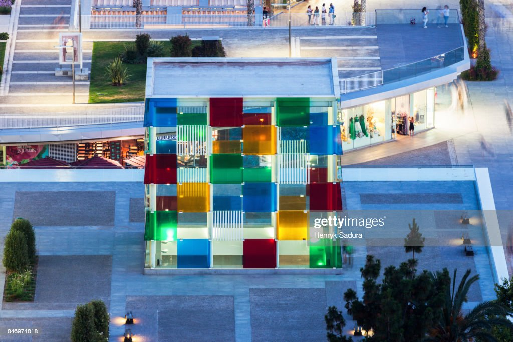 Museo Pompidou Malaga.Museo Pompidou In Malaga Stock Photo Getty Images
