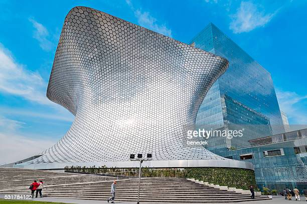 museo soumaya in mexico city mexico - mexico city stock pictures, royalty-free photos & images