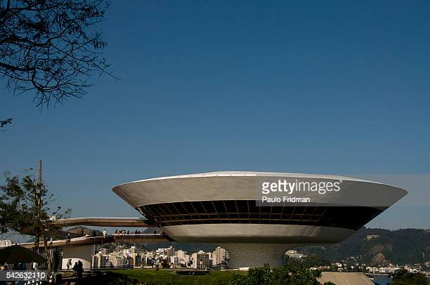 Museu de Arte Contempôranea in Rio de Janeiro designed by Oscar Niemeyer