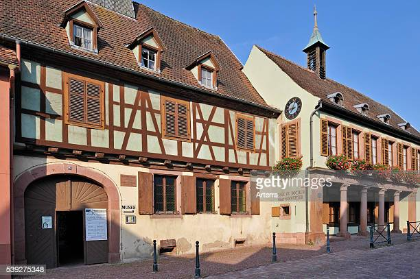 Museum and birthplace of Albert Schweitzer at Kaysersberg Alsace France
