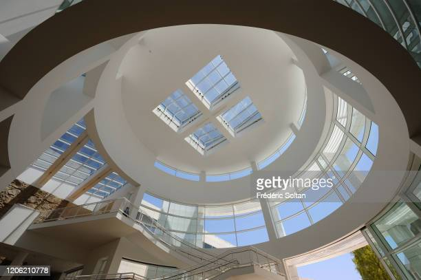 Museum and Cultural Center Getty Center in Brentwood, Los Angeles, project of the architect Richard Meier on July 10, 2016 in Los Angeles,...