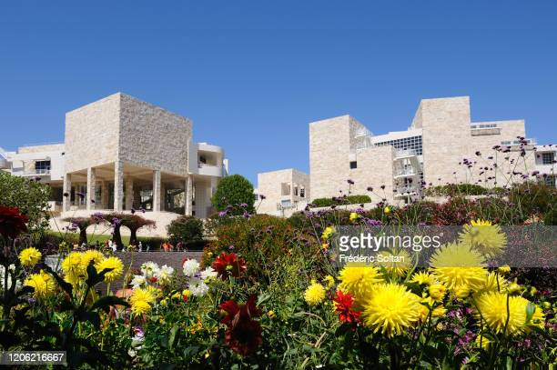 Museum and Cultural Center Getty Center in Brentwood Los Angeles project of the architect Richard Meier on July 10 2016 in Los Angeles California...