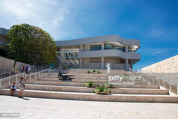 CONTENT] Museum and Cultural Center Getty Center in Brentwood Los Angeles California project architect Richard Meier