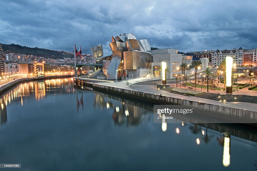 Museum at Bilbao : Stock Photo