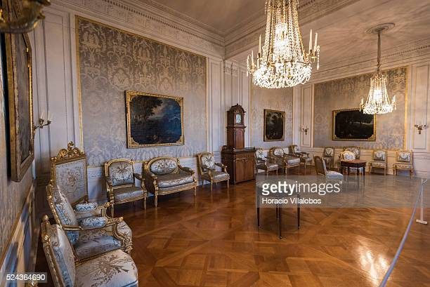 Museum at Schloss Johannisburg in Aschaffenburg Germany 14 May 2015 one of the most important buildings of the Renaissance period in Germany erected...