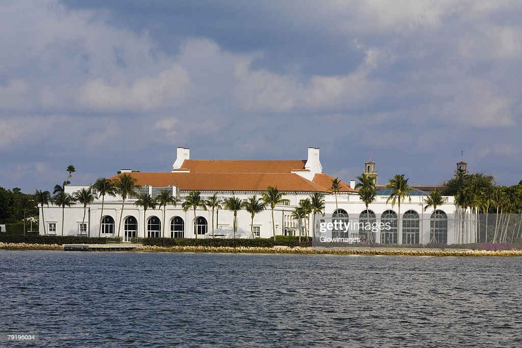 Museum at the waterfront, Flagler Museum, Palm Beach, Florida, USA : Stock Photo
