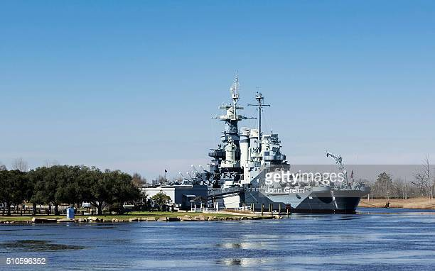Museum battleship USS North Carolina