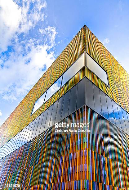 museum brandhorst - munich - christian beirle stock pictures, royalty-free photos & images